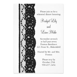 French Lace Rehearsal Dinner (white) by prettyfancyinvites