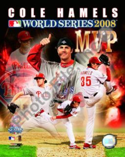 Cole Hamels 2008 World Series MVP Photo