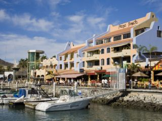 Plaza Bonita Shopping Mall, Cabo San Lucas, Baja California, Mexico, North America Photographic Print by Richard Cummins