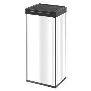Hailo 0860 101 Großraum Abfallbox mit Touch Deckelöffnung Big Box 60