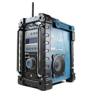 Makita BMR101 blau Job Site DAB Digital Radio **UK PLUG**