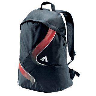 adidas Rucksack Elite BP, schwarz/rot/weiß Sport
