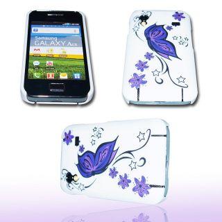 Handy Tasche Hard Case Cover JG Design f. Samsung GT S5830 Galaxy Ace