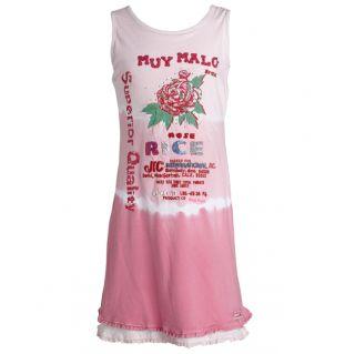 MUY MALO Kleid / Tunika Big Rose Pink Gr. 116 164 NEU ++