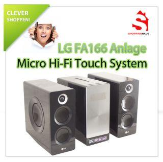 LG FA166 Micro HiFi Touch Anlage USB Recorder CD iPod Connect 160Watt