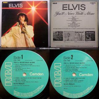 Elvis Presley   Youll Never Walk Alone (UK Mono)