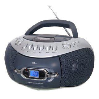 DK Digital CDB 400 CD  Radio  und Kassetten Recorder Radiorecorder