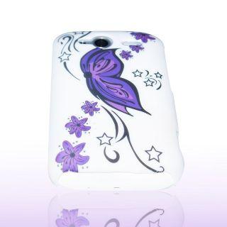 Handy Tasche Hard Case Cover JG Design f. HTC Wildfire S / Hülle