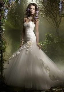 2012 New Custom Bridal Wedding Prom Dress Gown bridesmaid Evening