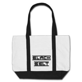 Martial Arts Black Belt Canvas Tote Bag