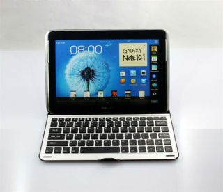 Bluetooth Wireless Keyboard Case Cover for Samsung Galaxy Note 10.1