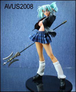 Ikki Tousen   Ryofu Housen   Blau / Anime Figur Statue Manga Figur