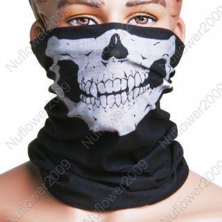 Totenkopf Skull motorrad maske Sturmhaube Mundschutz