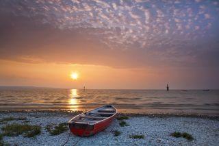 Fototapete Sonnenuntergang Meer Nr 173 Groesse 420cmx270cm Foto Tapete