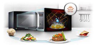 Samsung CE107FT B/XEG Mikrowelle / 28 L / 900 W / Digitale LED Anzeige