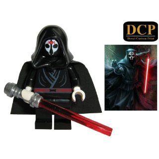 LEGO Star Wars Minifigur   Darth Vader vom Kampf gezeichnet