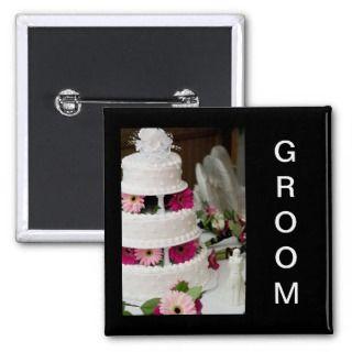 Gerbera Daisy Wedding Cake Pins