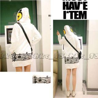 Hot Selling Korean Womens Cute Hoodie Pullover Sweatshirt Outerwear