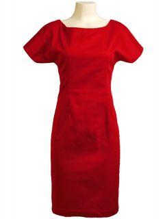 Joan Holloway Mad Men Red Rockabilly Secretary Pinup Wiggle Pencil