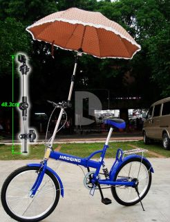 adjustable 2 sections Umbrella Holder Mount Stand For Bike Bicycle