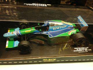 Benetton B194   Michael Schumacher   Pauls Modell Art   118   Neu