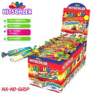 Hitschler BIG BUB 200 Kaugummi mit Tattoos bigbub Bubble Gum