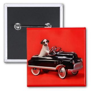 Pedal Car Puppy Pin