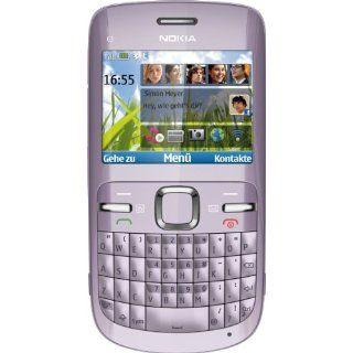 Nokia C3 00 Smartphone 2,4 Zoll acacia Elektronik