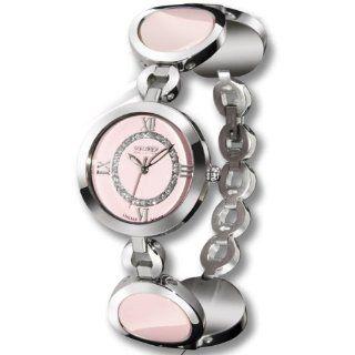 Haurex Italy Damenuhr My Life Pink Dial Ceramic Watch #XA349DP1