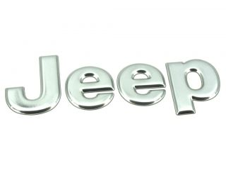 Genuine New JEEP BOOT BADGE Rear Emblem For Liberty 2002 2004