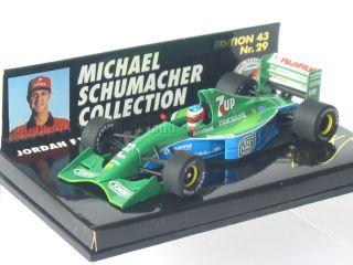 F1 JORDAN FORD 191 MICHAEL SCHUMACHER SPA BELGIEN 1991 NO 29 MSC PMA 1