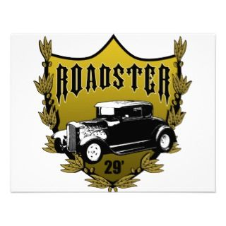 29 Ford Roadster Personalized Invitations