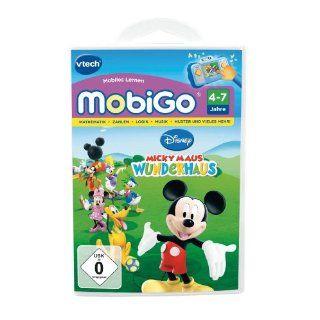 VTECH 80 250504   MobiGo Lernspiel Micky Maus Wunderhaus