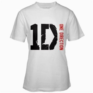 ONE DIRECTION T Shirt White Tee Size S,M,L,XL