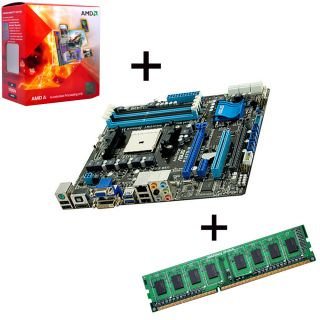 PC Bundle Aufrüstset / Tuning Kit AMD A6 3670K / Asus F1A75 M / 4GB