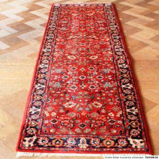 Edel Handgeknüpfter Orient Perser Palast Teppich Ghom Saroug Läufer