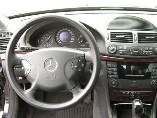 Lederlenkrad Lenkrad MERCEDES W211 W219 CLS AMG TUNING FLAT ABGEFLACHT