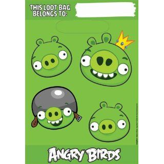 ANGRY BIRDS   16 grosse Party Servietten, gelb   aus USA