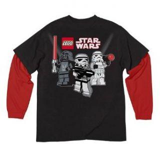 , Darth Vader   schwarz/rot   Gr. 122/128 Bekleidung