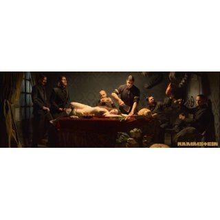 Fototapete Rammstein Album Cover   Größe 254 x 183 cm