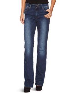 Wrangler Damen Jeans Hoher Bund, W242X134D Bekleidung