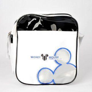 Micky Maus Schultertasche Messenger Tasche Weiß