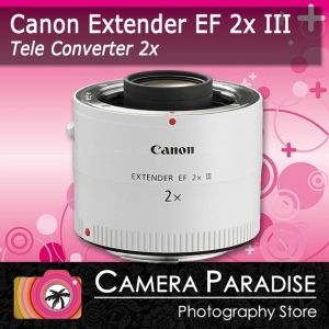 Canon EF 2X III Extender 2 x Mk Mark 3 for tele zoom tele converter