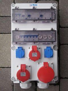 Bals 519700 Stromverteiler 16 32 63A 3xFi Wandverteiler