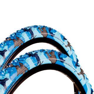 2x Sweetskinz Nightwing Fahrrad Reifen 26 x 2,1 54 559 blau camo MTB