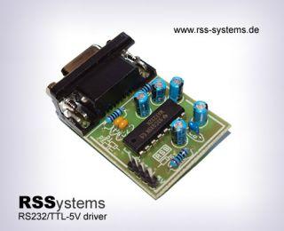DIGITAL CONVERTER KIT, CMOS/TTL TO RS232 SIGNALS, +5V