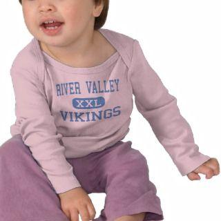 River Valley   Vikings   High School   Marion Ohio T shirt
