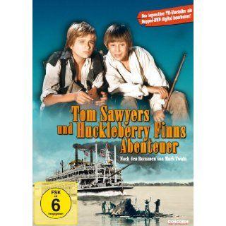 Tom Sawyers und Huckleberry Finns Abenteuer 2 DVDs   Die legendären