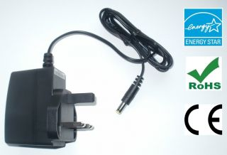 ZOOM RT 223 RT223 POWER SUPPLY REPLACEMENT ADAPTER 9V