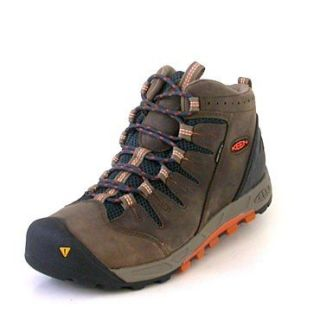 Keen Bryce Mid WP shitake/burnt/orange Schuhe